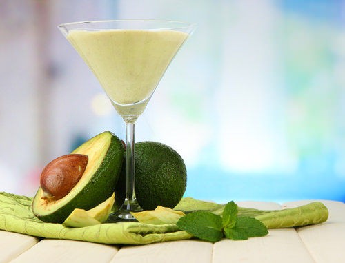 Vanilla avocado soft serve