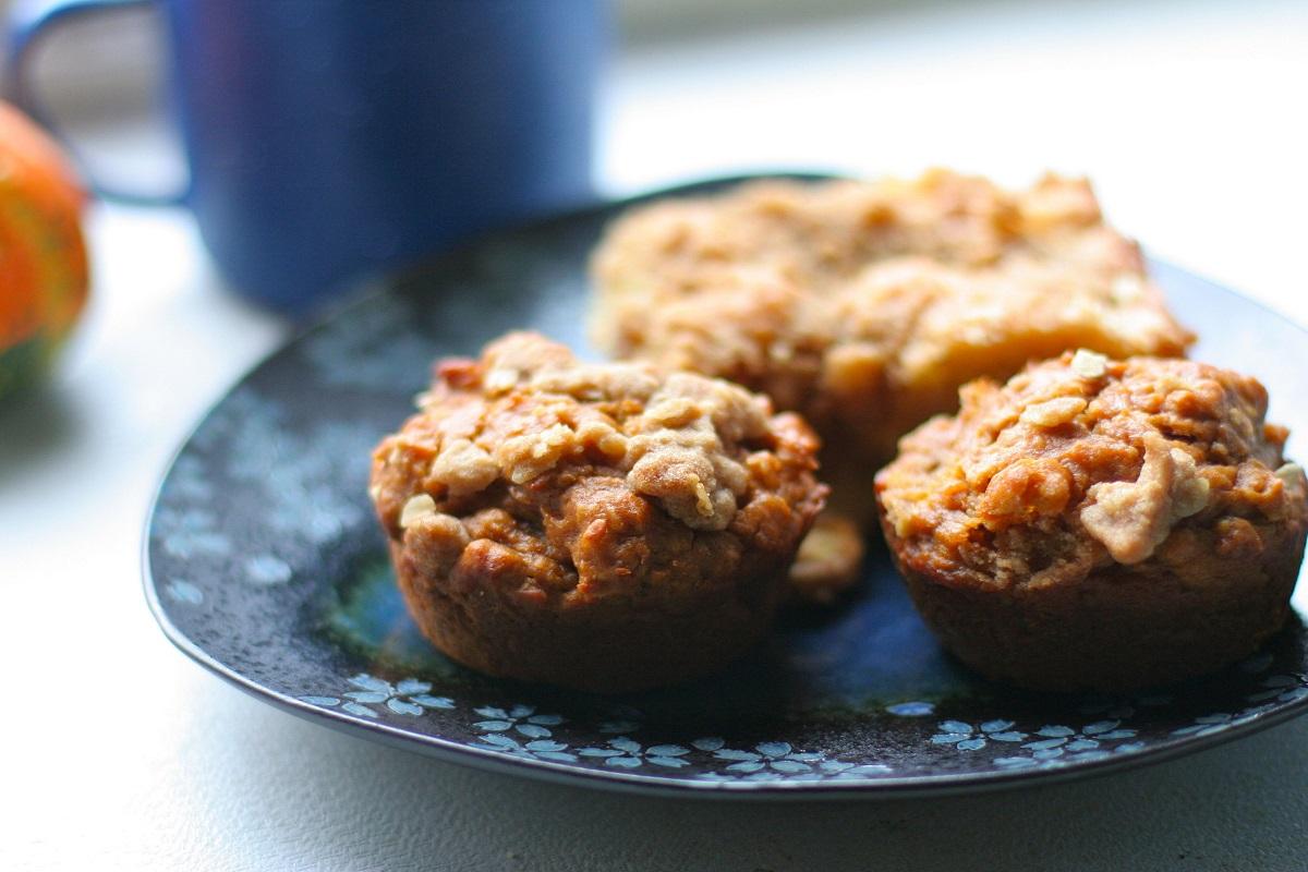 Gluten-Free Apple Oatmeal Muffin