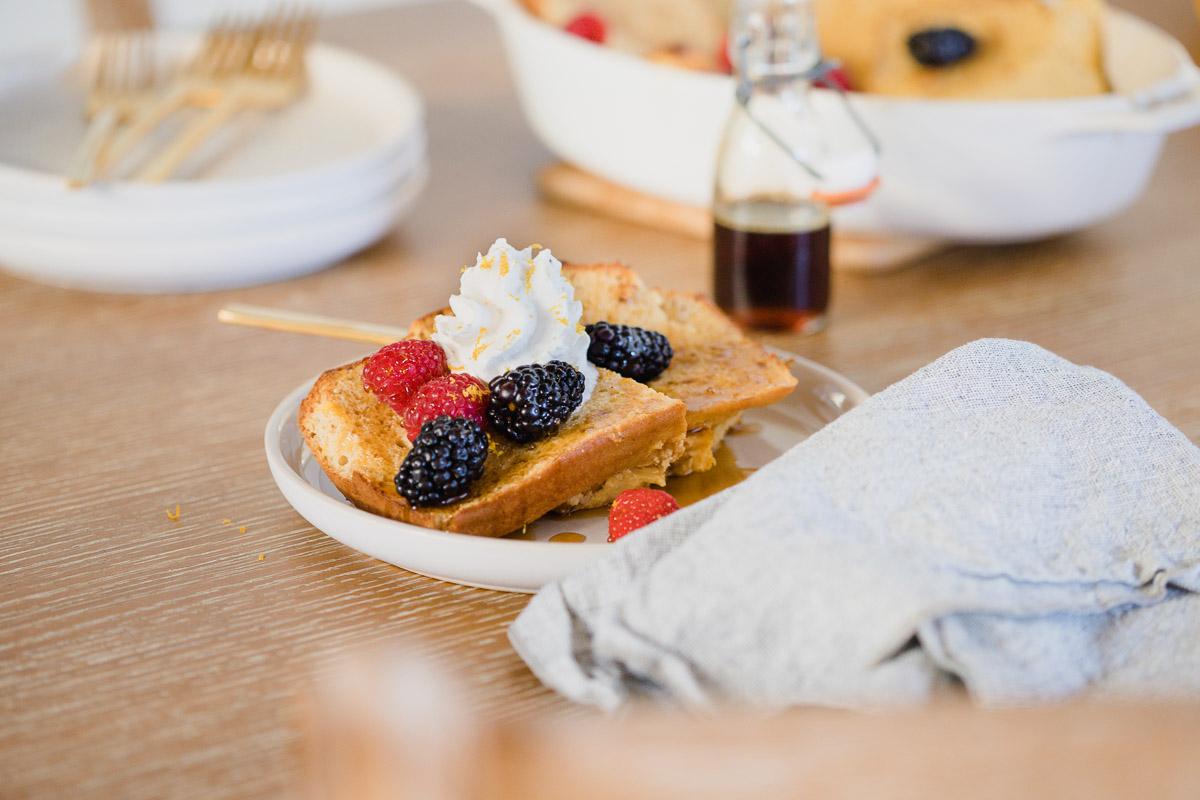 Gluten-Free Vanilla-Flax French Toast