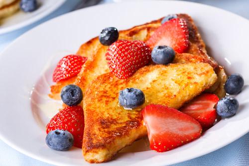 Gluten free vanilla flax French toast