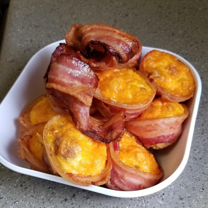 Tasty Muffin Tin Recipes Bacon, egg and cheese cups