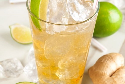 Ginger Fizz Cocktail
