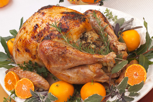 Citrus-Marinated Turkey