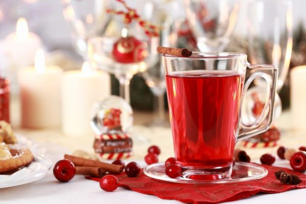 Hot Cranberry Ginger Punch