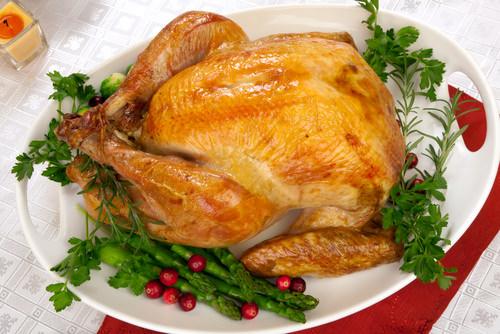 Roast Turkey with Wild Mushroom Gravy