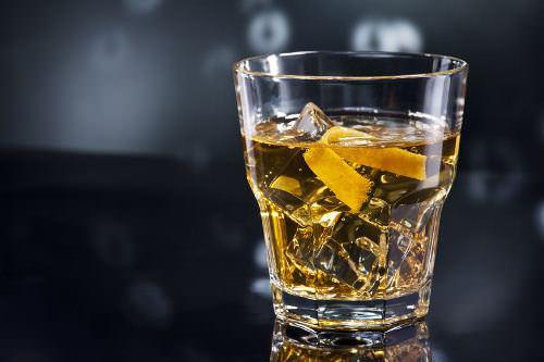 Basil Whisky Sour