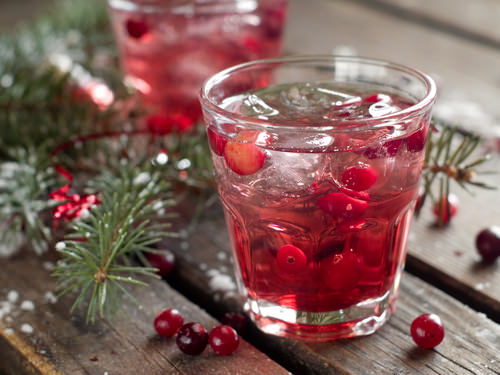 Cranberry Juice and Vodka