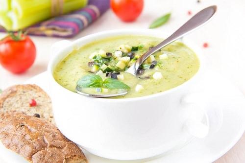 Avocado Basil Soup