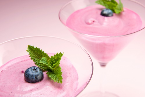 Blueberry Cassis Fool