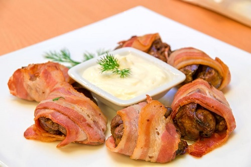 Chicken Bacon Wraps