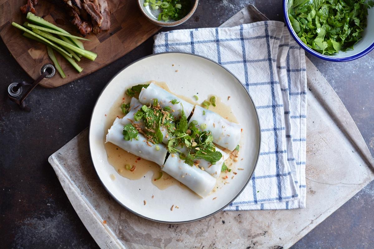 Halibut and Lemongrass Rolls