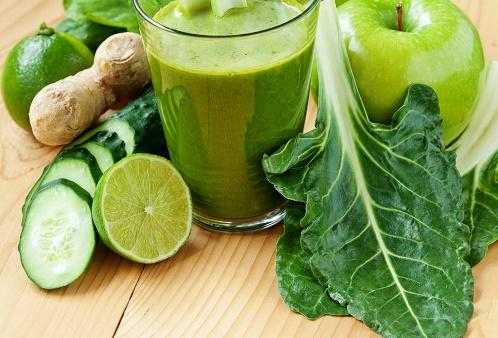 Kale Cucumber Apple Delight