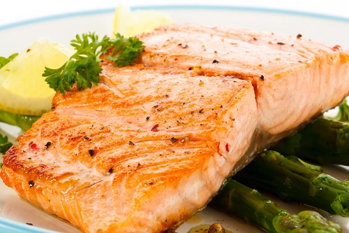 Lime and Mustard Grilled Salmon Steaks