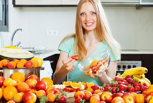 Monochrome Fruit Salad