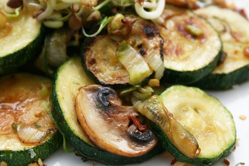 Mushroom zucchini
