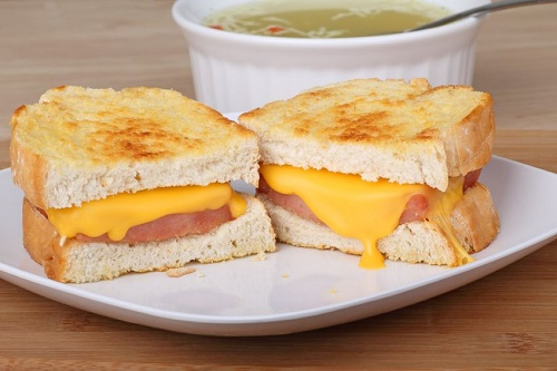 New American grilled cheese