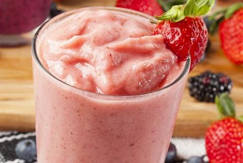 Refreshing Strawberry Shakes