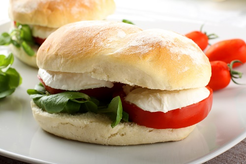 Turkey and Mozzarella Burgers