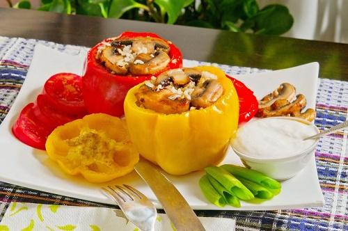 Vegetable Stuffed Peppers