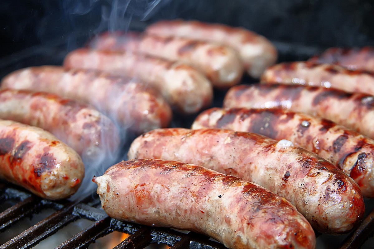 Venison cheddar summer sausage