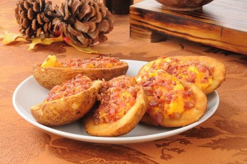 Cheesy Bacon Potato Rounds