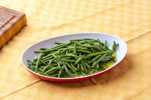 Parmesan Green Bean Fries