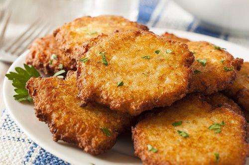 Ukrainian Potato Pancakes