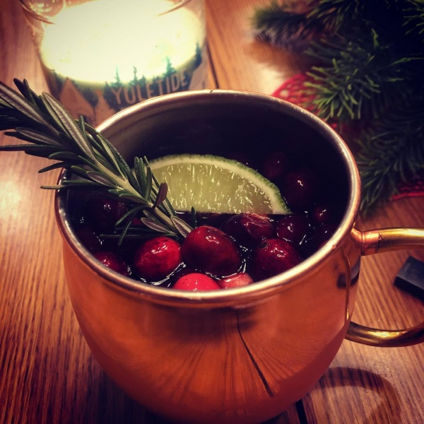4 Moscow Mule Recipes - Cranberry Moscow Mule