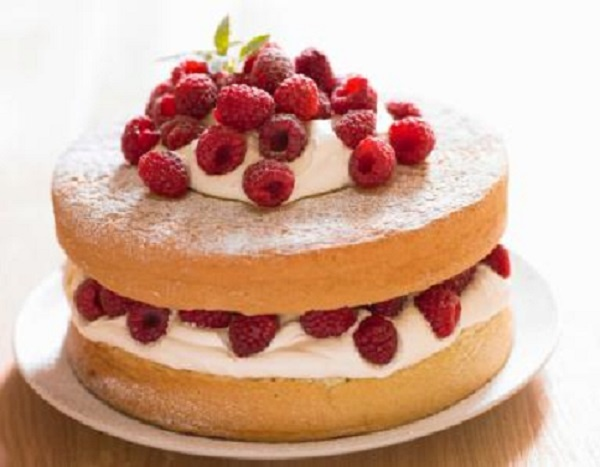 Light & Airy Sponge Cake Recipe