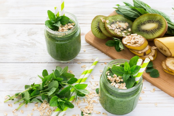 Spinach and oats