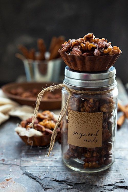 slow cooker sugared nuts