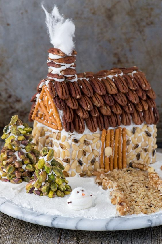 healthy gingerbread home