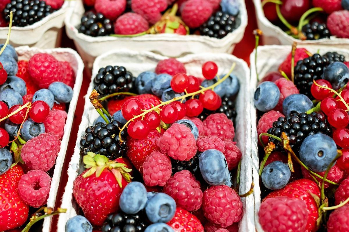 Fresh fruit mix