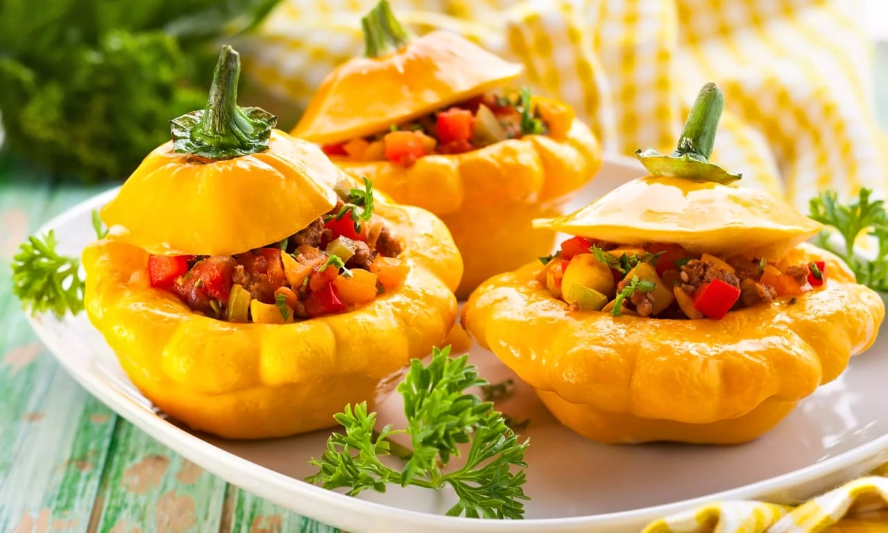 10 Stuffed Summer Squash Vegetarian Recipes