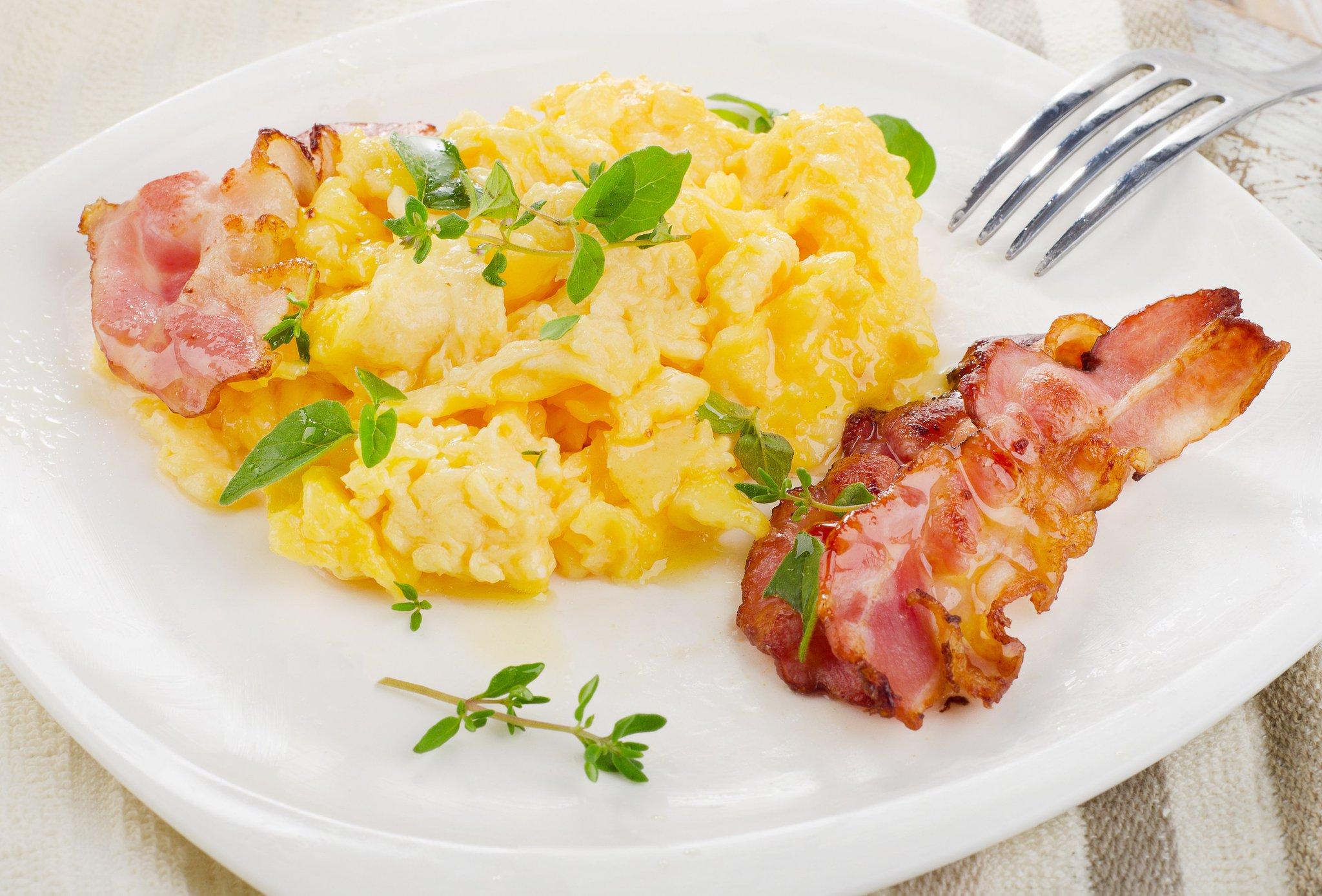Bacon Scrambled Eggs
