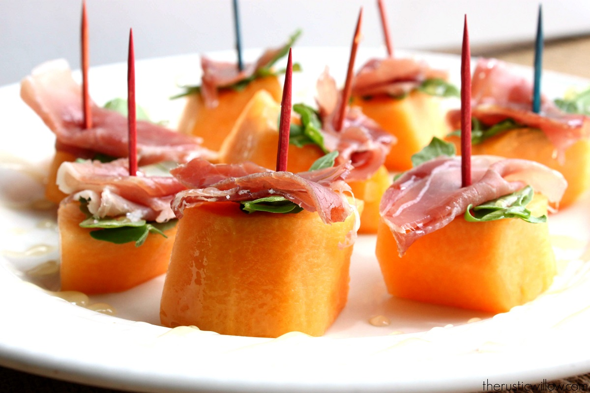 Cantaloupe and bacon