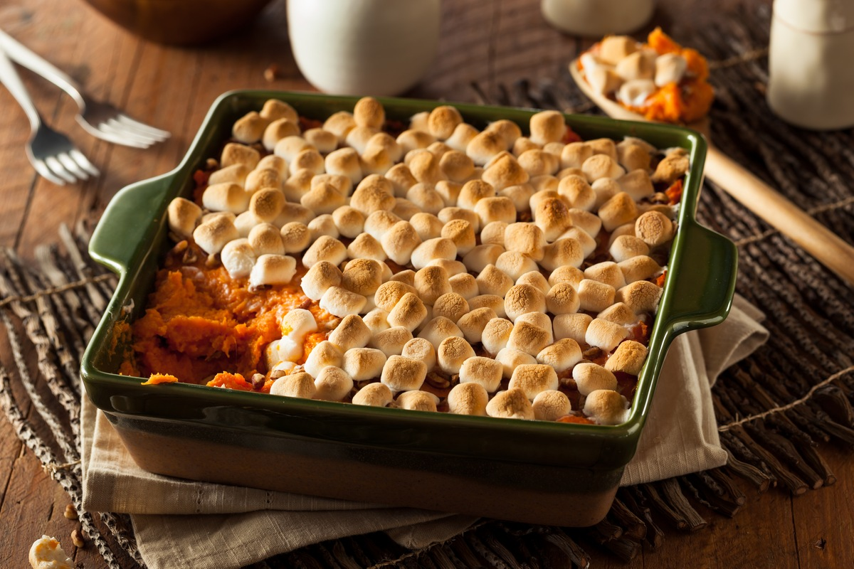 7 Non-Traditional Thanksgiving Side Dishes - Sweet potato casserole