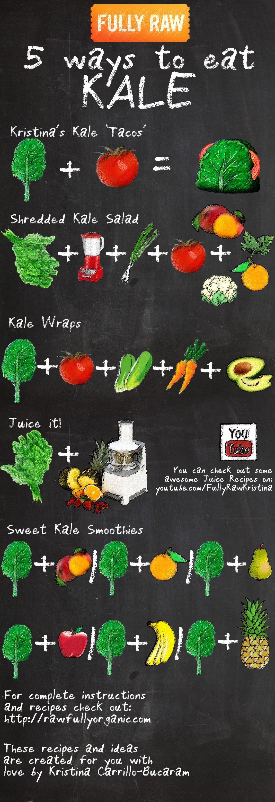 5 Ways To Eat Kale