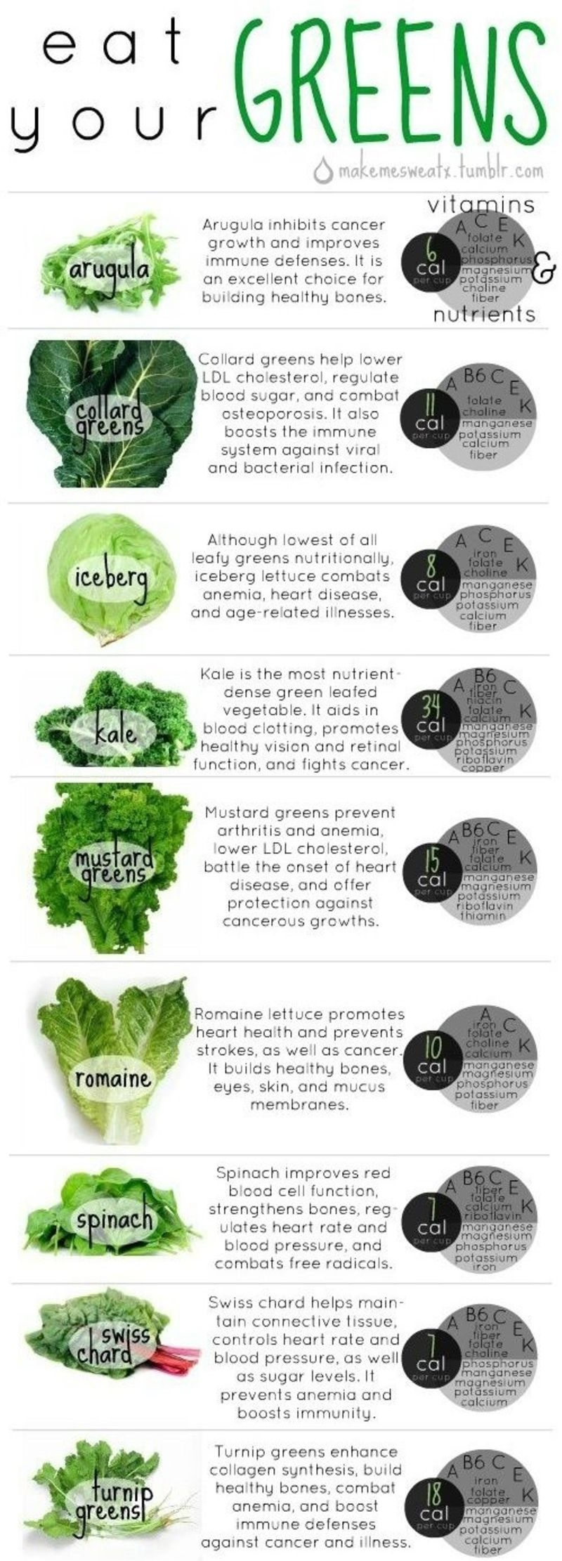 Your Basic Guide To Green Veggies