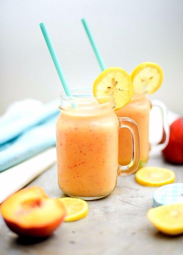 Peach Lemon Smoothie