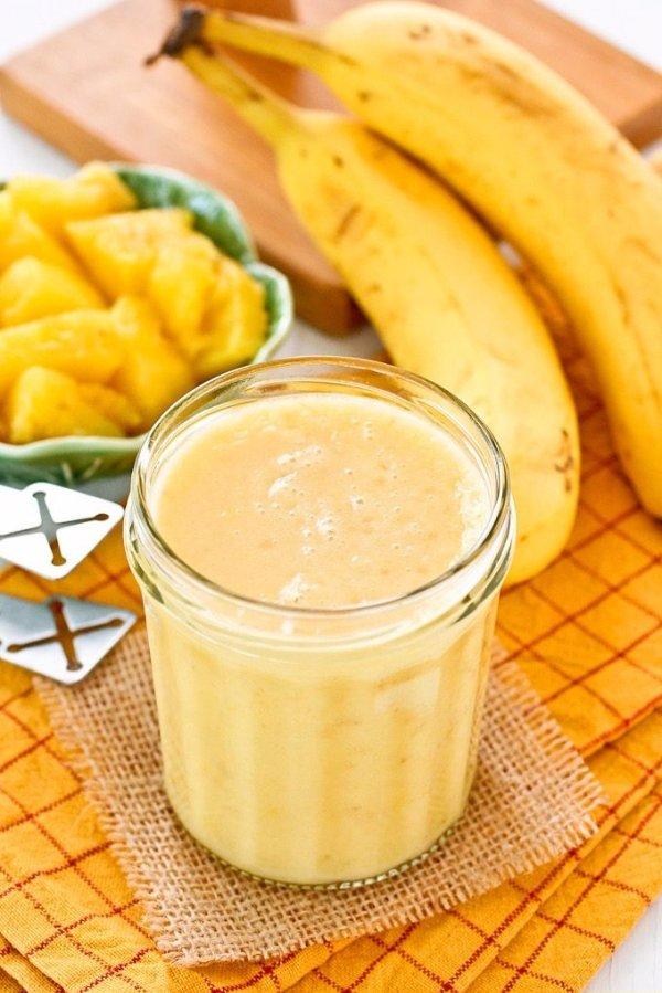 Pineapple Banana Smoothie