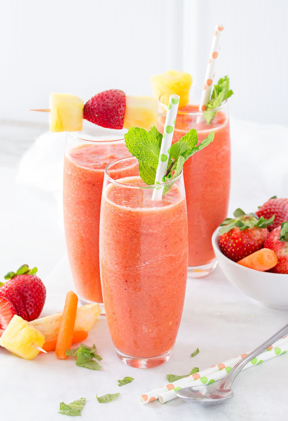 Tropical Carrot Smoothie