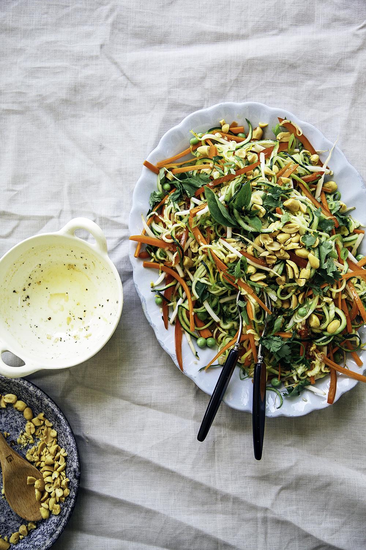 Raw Pad Thai Salad
