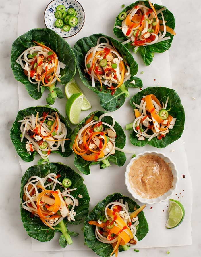 Vegan Brussels Sprout Wraps