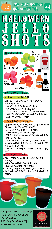 Halloween Jell-O Shots Recipe