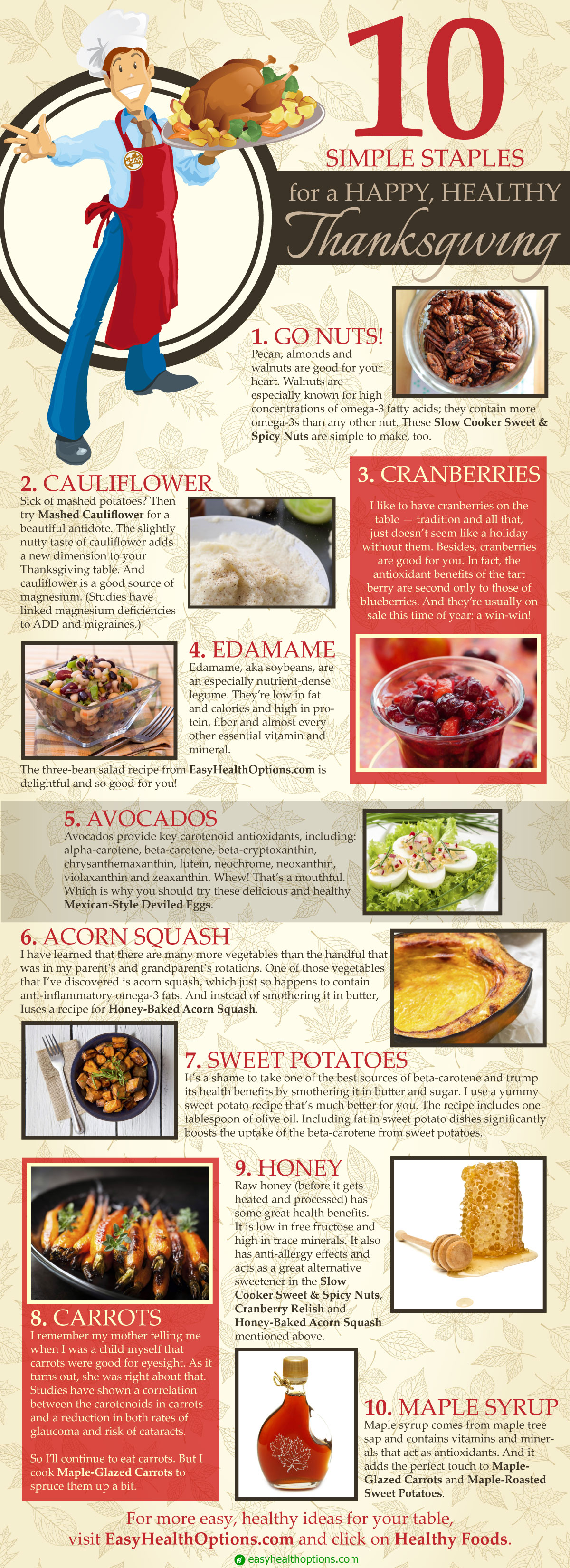 10 Thanksgiving Staples For A Healthy Thanksgiving