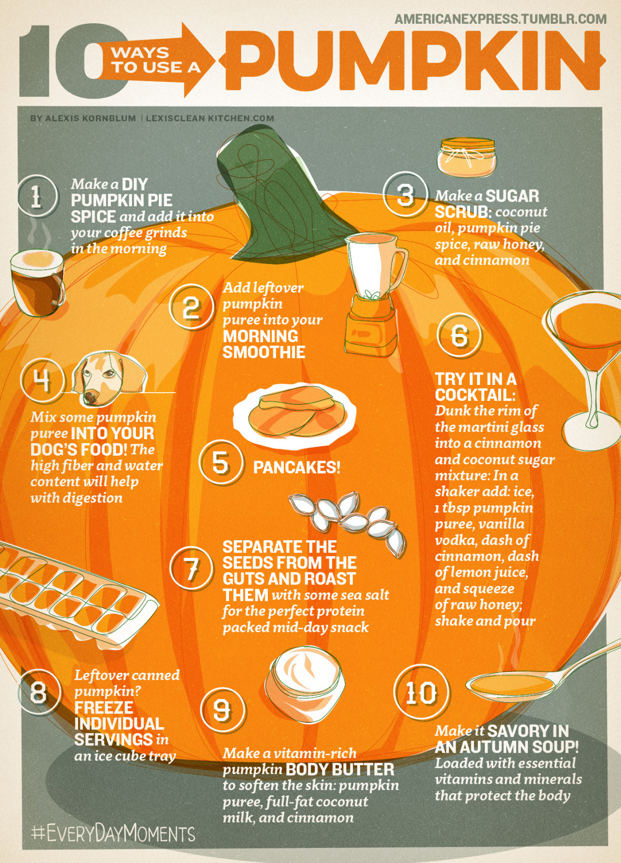 10 Ways To Use A Pumpkin