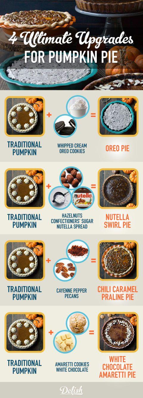 4 Ultimate Upgrades Pumpkin Pie