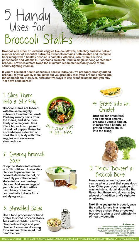 5 Handy Uses for Broccoli Stalks