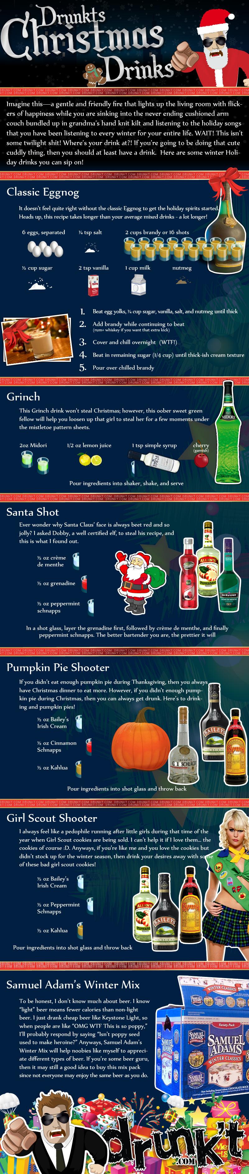 6 Christmas Drinks